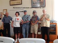 Harmonica Contestants and Winners  2017